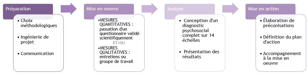 étapes audit climat social DECLIC CONSEIL